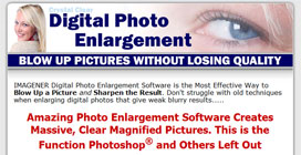 Enlarge Images Sales Squeeze Page
